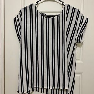 Stripped Black and White Forever 21 Top
